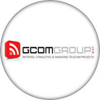 GCOM GROUP לוגו